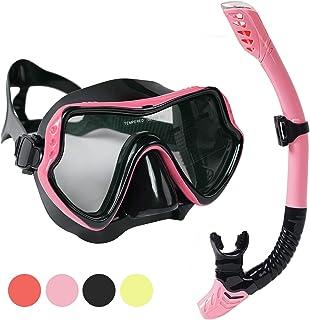 ست غواصی اسکوبا MOCOTONO ، ماسک غواصی ضد مه ، پانورامیک ، عینک محافظ غواصی ضد نشت برای آقایان