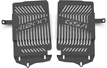 Ro-Moto Radiator guard Matte black compatible for BMW R1200GS Adventure 2014 2015 2016 2017 2018 LC Water cooled