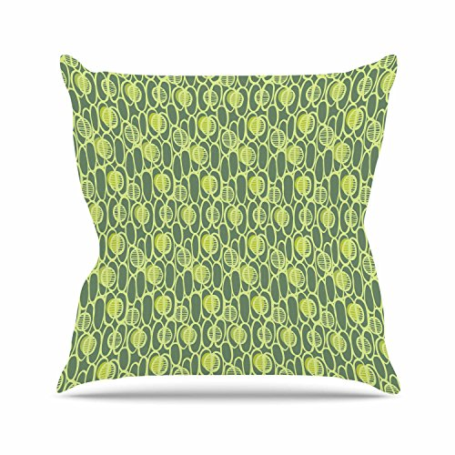 30 by 20-Inch 30 X 20 Kess InHouse Holly Helgeson Mod Pod Teal Pattern Standard Pillow Case