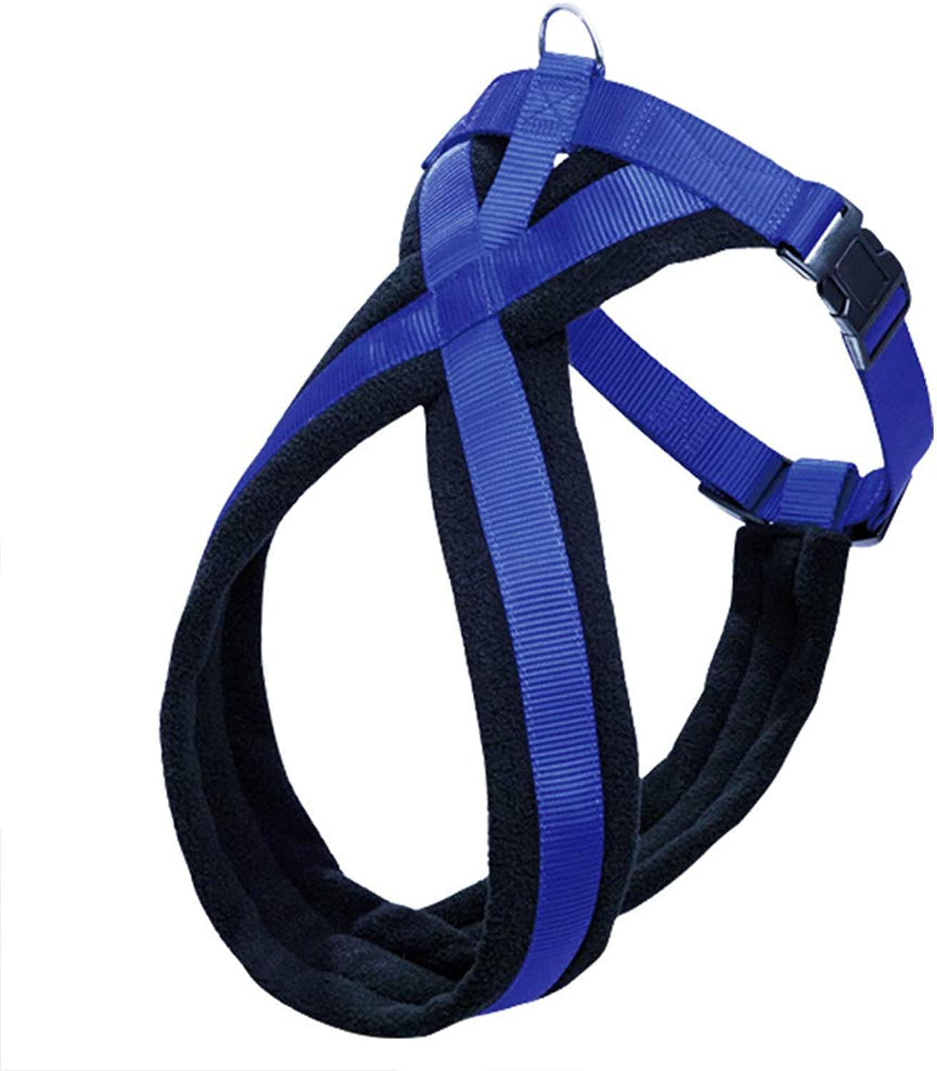 Dog Harness Plus Connector Strap Soft Comfort Fleece Padded Large Dog Harness Pet Walking Harness