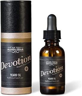 Devotion - Patchouli and Floral Aroma - Premium Beard Oil for Men | 1 oz. Dropper Top Amber Glass Bottle