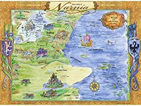 The Rose Map of Narnia and Laminated Wall Chart
