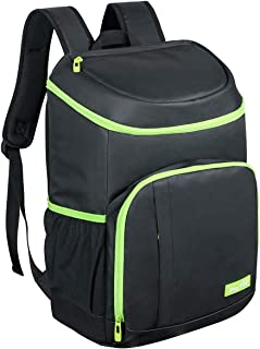Hap Tim 30 Cans Leakproof Insulated Backpack Cooler Lightweight Soft Cooler Bag Backpack for Picnic,Camping,Hiking,Beach,F...
