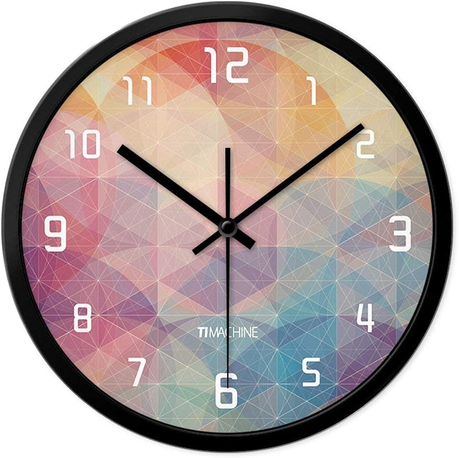 el mejor servicio post-venta IG Reloj de Parojo Parojo Parojo Bell-Metal Accurate - Relojes Personalizados Reloj de Parojo de Moda Sala de Estar Mesa Colgante Reloj de Cuarzo Moderno Mudo Creativo Grande (12 Pulgadas, 14 Pulgadas,) - 1 Bate  ventas de salida