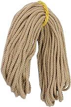 100% Natural Hemp Rope (8mm),20 Meters(65 ft) for Arts DIY Packing Materials