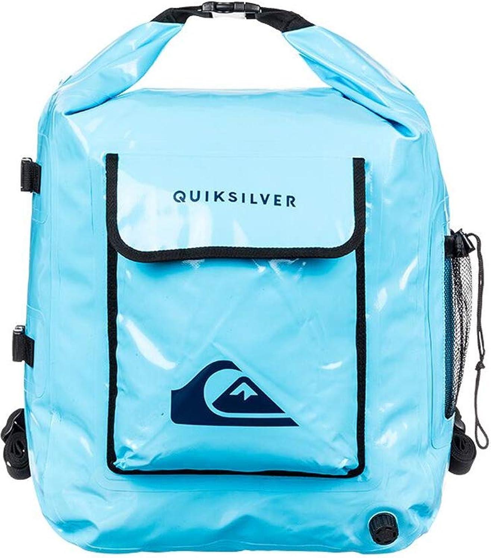 QuikSilber Deluxe Wet Dry Rucksack Rucksack Bag 32L Blau - Wasserdicht Spritzwassergeschützt