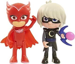 Just Play Disney Junior PJ Masks Figure Pack Set Owlette and Luna Girl