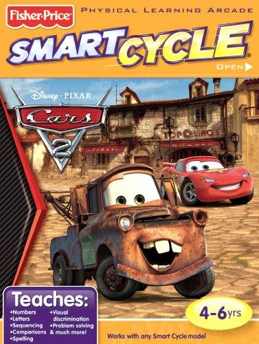 Fisher-Price Smart Cycle [Old Version] Disney/Pixar Cars 2 Software Cartridge