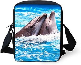 Trousse /à stylos et crayons Coloris : bleu Pour fille et gar/çon Nopersonality Trousse scolaire dolphin Organisateur de sac Trousse pour Fournitures scolaires Kawaii Motif animaux dauphin