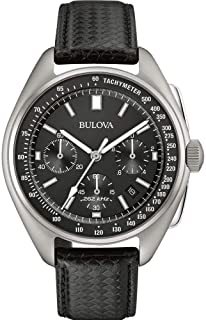 Bulova Men's 45mm Special Edition Lunar Pilot Chronograph Watch
