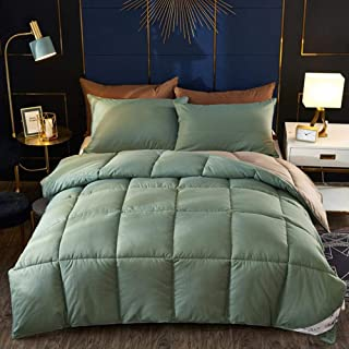 Couverture de Couette Douce et Respirante pour climatisation 200cm Couvre-lit Confortable et l/éger E Bocotous Couette en Duvet 150