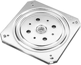 Gedotec Draaitafel 360° draaiplateau om te schroeven, verzinkt staal, drukkogellager 150 kg, draaitafel voor zware lasten,...