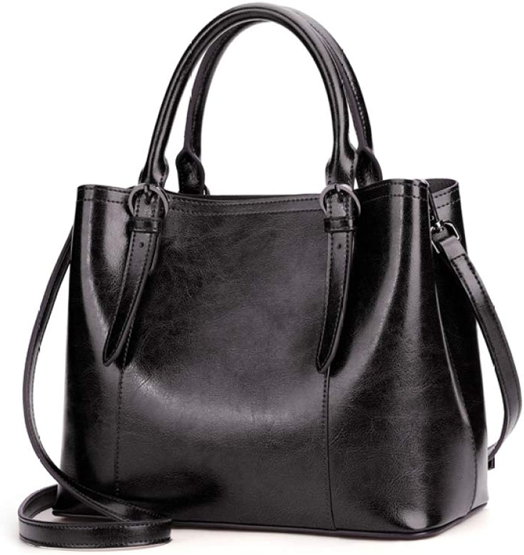 Damen Handtasche Modische Top-Griff Tasche Umhängetasche Ledertasche Handtaschen Mit Großer Kapazität B07J5LVT9Z