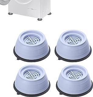 Support de machine à laver à suppression des chocs et du bruit, coussinets anti-vibrations pour laveuse et sécheuse, protè...