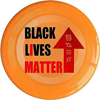 RCINC Black Lives Matter Outdoor Game Frisbee Ultra Star Yellow