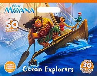 Disney Moana Ocean Explorers (Floor Coloring Pad)