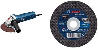 BOSCH(ボッシュ) 100mmディスクグラインダー GWS750-100I & バリューシリーズ・切断砥石(10枚入) MCD10510VM/10【セット買い】