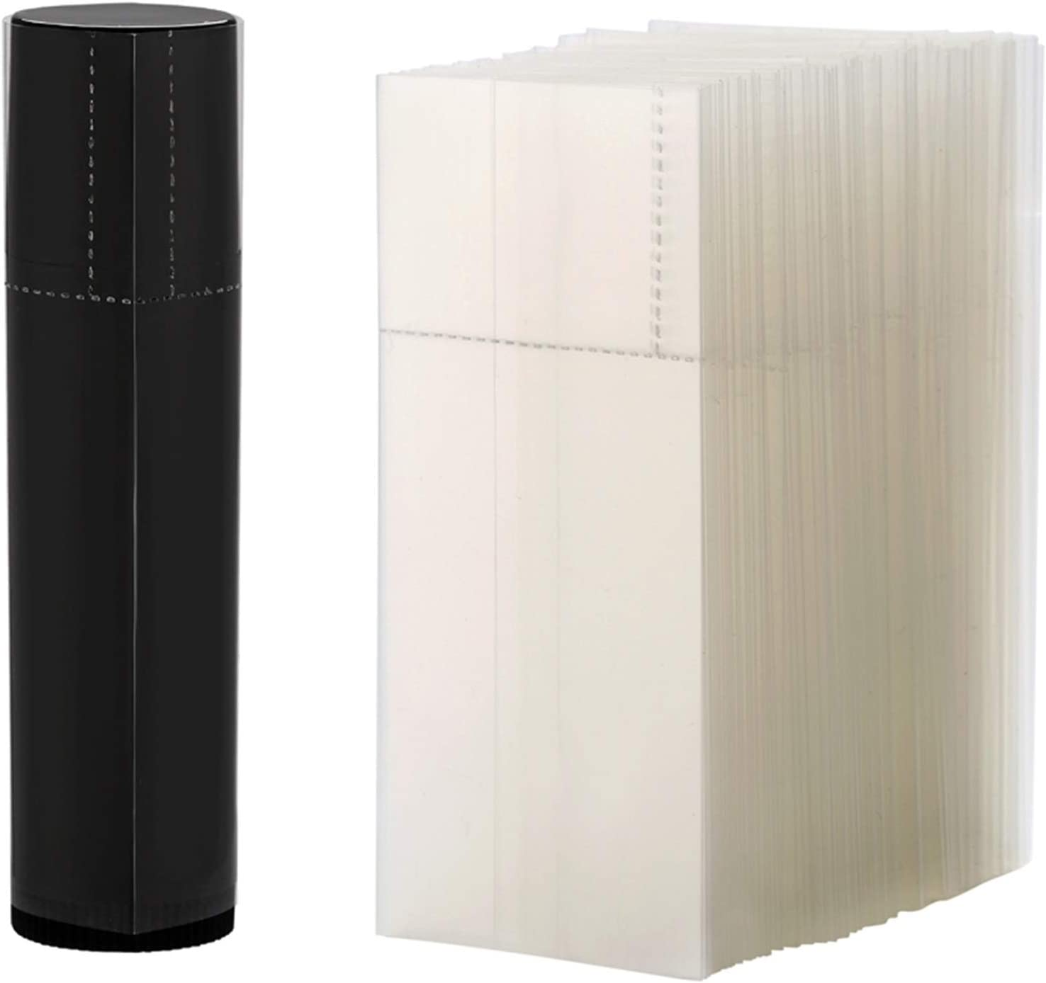 XMEIFEI depot Ranking TOP7 PARTS 500Pcs Shrink Wraps Lipsti Lip Balm Containers for