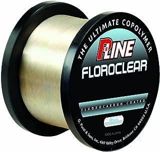 P-Line Floroclear Bulk Spool Clear Fishing Line
