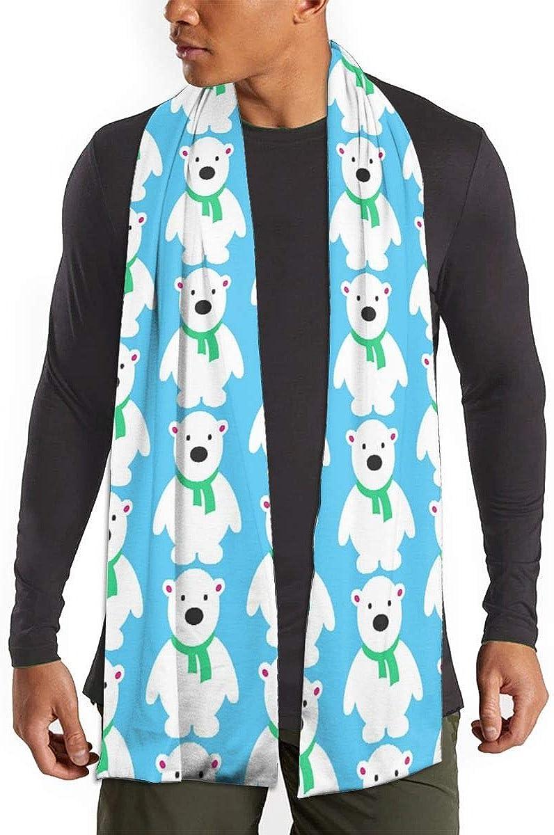 Winter Scarf Shawl Wraps Soft Warm Scarves for Women Men(Cute Pug Dog)