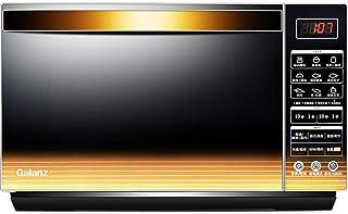 JINRU Horno De Microondas con Inversor De Pantalla LCD Táctil Inteligente 900 W De Calentamiento Rápido Ahorro De Energía Horno De Convección De Revestimiento De Acero Inoxidable 23L