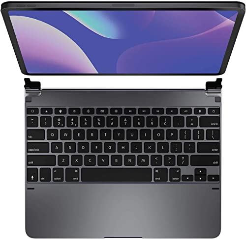 lowest Brydge Pro 2021 12.9 Keyboard for iPad Pro wholesale 12.9-inch 3rd Generation Model (2018)   Aluminum Wireless Bluetooth Keyboard with Backlit Keys   Long Battery Life   (Space Gray) outlet sale