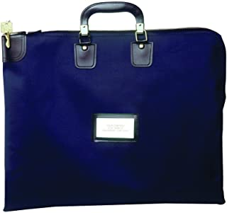 Locking Briefcase Style Courier Bag (Yale Blue (Navy))