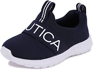 Nautica Baby Prewalker, Slip-On Crib Sneakers, Toddler/Infant Soft Sole Shoes |Boy - Girl| Tiny Mattoon