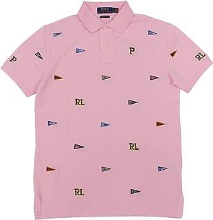 Polo Ralph Lauren Men's Custom Slim Fit Embroidered Mesh Polo Shirt