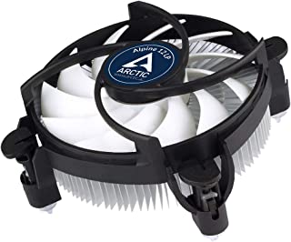 ARCTIC Alpine 12 LP - CPU Cooler for Intel Sockets with 92 mm PWM Fan, up to 75 Watts Cooling Power, with Pre-Applied MX-2 Thermal Compound, Easy Installation