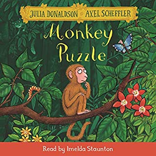 Monkey Puzzle audiobook cover art