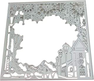 W-HELLO Snow Scene Metal Cutting Dies DIY Scrapbooking Paper Stamping Die Decor DIY Paper Cards Making