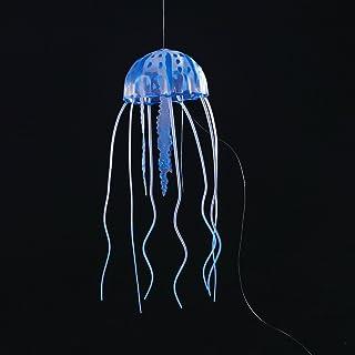 LMKIJN Decoración del Tanque de Peces Aquarium Artificial Glowing Jellyfish para la decoración del Tanque de Peces (Azul) para la decoración del hogar