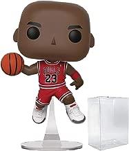 Funko NBA: Chicago Bulls Michael Jordan Pop! Vinyl Figure (Includes Compatible Pop Box Protector Case)