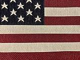 LushFabric Polsterstoff/Kissenbezug, Motiv USA Amerika mit