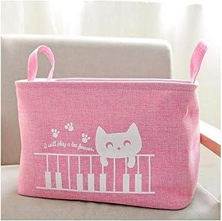 MJY Panier à linge de style japonais avec cordon de rangement pour linge de maison, vêtements, sacs de rangement, sacs pou...