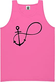 Infinity Anchor Bright Neon Tank Top - 6 bright colors