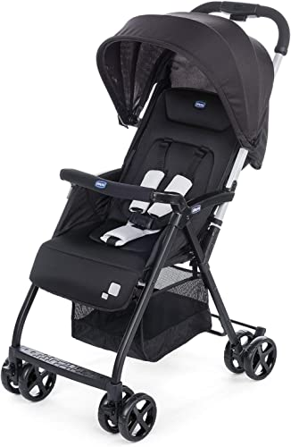 Chicco Ohlalà 2 Stroller for Newborn Babies and Toddlers, 0m+, Pram for Boys and Girls (Black Night)