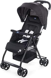 Chicco Ohlala 2 - Silla de paseo ultra ligera y compacta, fácil conducción, solo pesa 3,8 kg, color negro (Black Night)