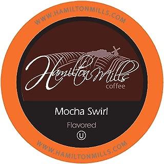 Hamilton Mills Mocha Swirl Coffee Pods, 2.0 Keurig K-Cup Brewer Compatible, 40 Count