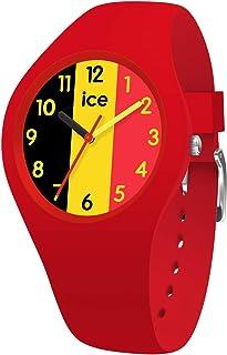 Ice-Watch - ICE world Ola Belgium - Montre rouge pour femme avec bracelet en silicone - 015737 (Small)