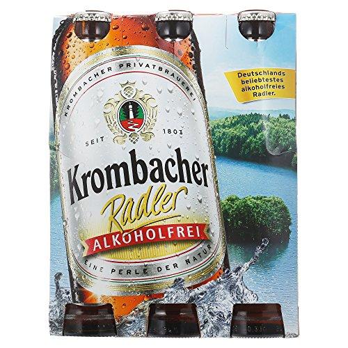 Krombacher Radler Alkoholfrei MEHRWEG (6 x 0.33 l)