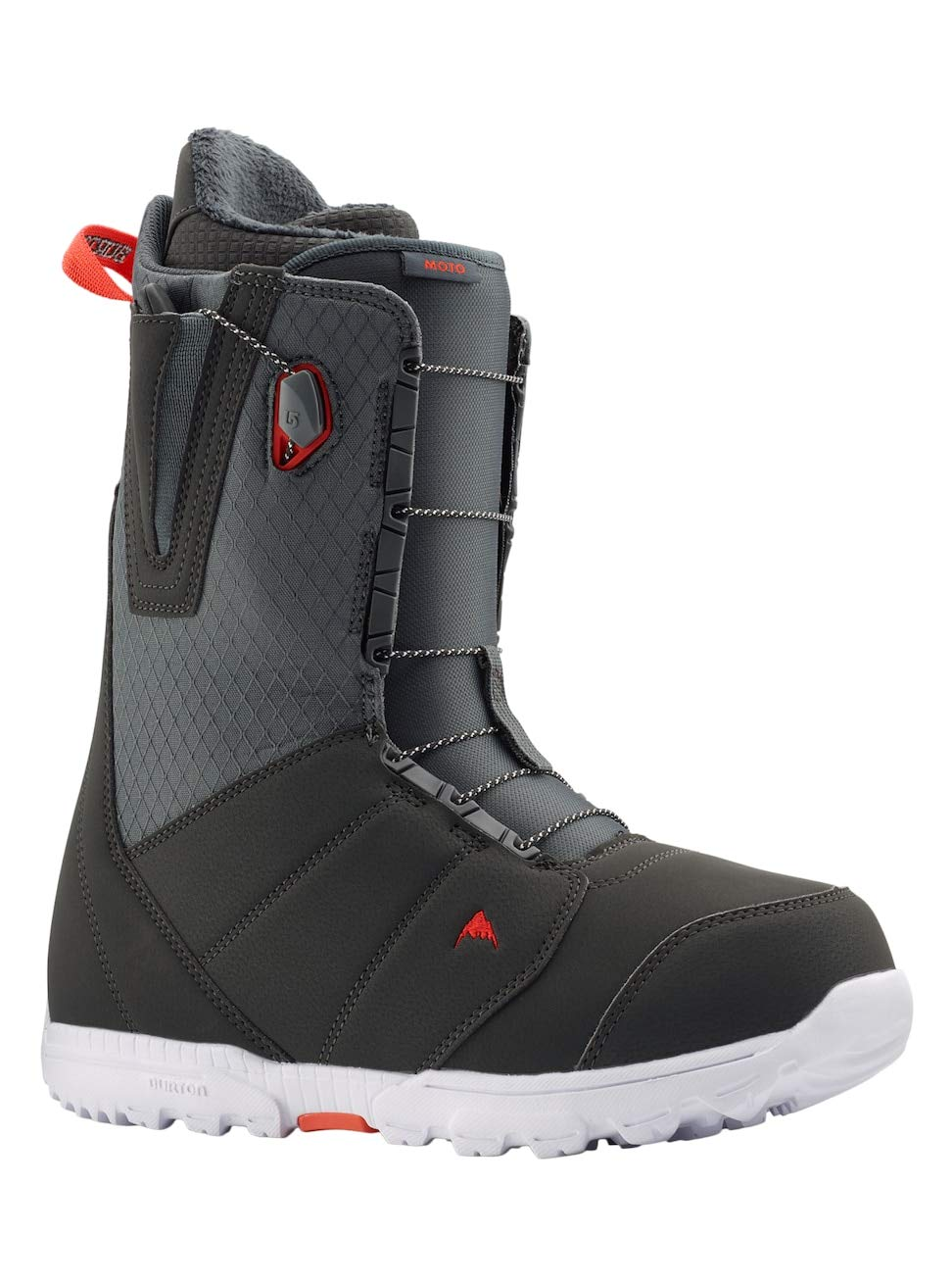 Burton Men's Moto Snowboard Boot Gray/Red