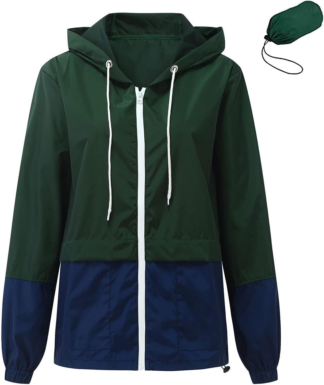Women Long Sleeve Patchwork Thin Skinsuits Hooded Zipper Casual Sport Coat Outdoor Lapel Button Down Fleece