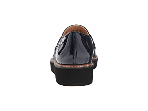 LeatherInky Patent August PatentSilver Leather Foil Navy Alabaster Patent LeatherBlack Naturalizer Textured FaHwq