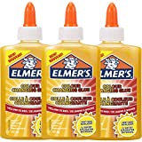 Elmer's Colour Changing PVA Glue | Great for Making Slime | Washable | Yellow to Red | 147 ml | 3 Count