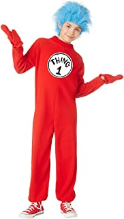 Kids Thing 1 and Thing 2 Dr. Seuss Costume | Officially Licensed