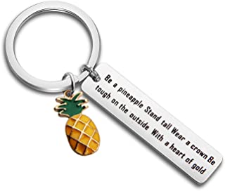MAOFAED Pineapple Keychain Pineapple Gift 21st Birthday Gift Bachelorette Favors Bridesmais Gift