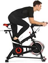 Nameyio Indoor Cycling Bike Trainer Spin Bike Professional Stationary Bike Cycle Exercise Bike for Home Cardio Gym Workout