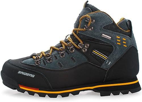 Wasserdichte Leder Outdoor Wanderschuhe Herbst Winter Herren Sport Trekking Bergsteigen Stiefel
